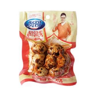 贤哥 鹌鹑蛋 香辣味 80g 汪涵代言