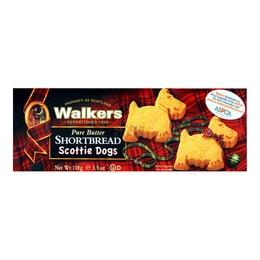 英国WALKERS 苏格兰小狗型黄油酥饼 110g