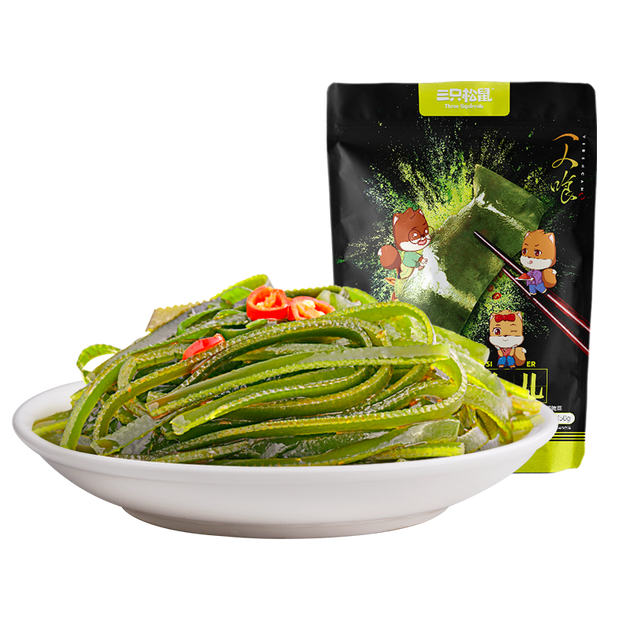 Product Detail - THREE SQUIRRELS-seaweed strips 150g - image  0