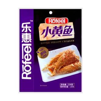 乐惠 小黄鱼 原味 106g