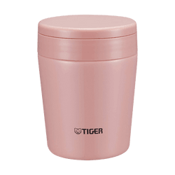 TIGER Stainless Steel Thermal Vacuum Insulated Food Jar Soup Cup #Pink 300ml MCL-A030