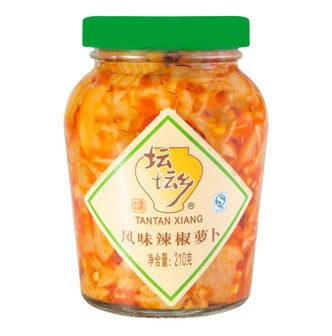 TANTANXIANG Pickled Chili Turnips 210g