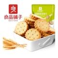 [中国直邮] BESTORE 良品铺子咸蛋黄麦芽饼干早餐零食102g