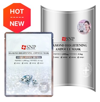 SNP Diamond Brightening Ampoule Mask 10sheets