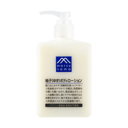 MATSUYAMA Yuzu body lotion 300ml