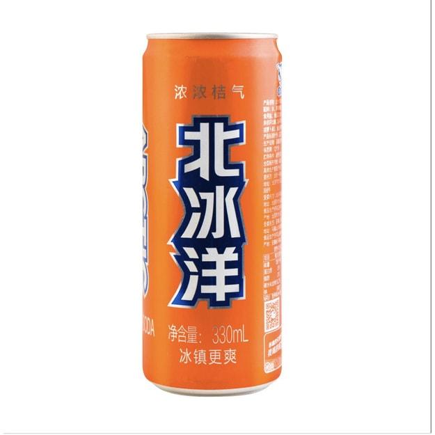 商品详情 - 北冰洋橘子汽水 330ml - image  0