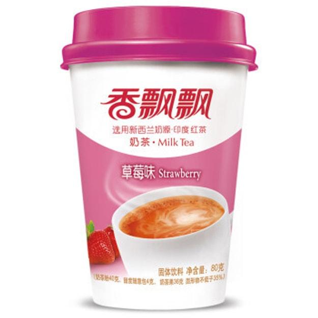 商品详情 - 香飘飘 草莓奶茶 3连包 80g - image  0