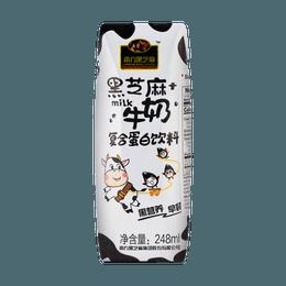 南方 黑芝麻牛奶 复合蛋白饮料 248g