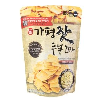 韩国JAYONE 手制豆腐饼干 松子味 110g