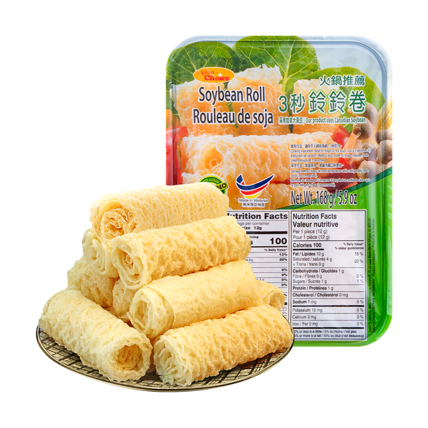 Product Detail - ASIAN CHOICE Soybean Roll 168g - image 0