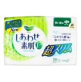 KAO LAURIER F Silky Thin Sanitary Napkins with Wings Day Use 22.5cm 20pads