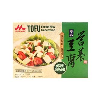 日本MORINAGA森永 无防腐剂营养传统豆腐 349g