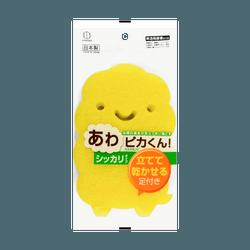 日本KOKUBO小久保 泡泡清洁海绵超强去污型 一杖入