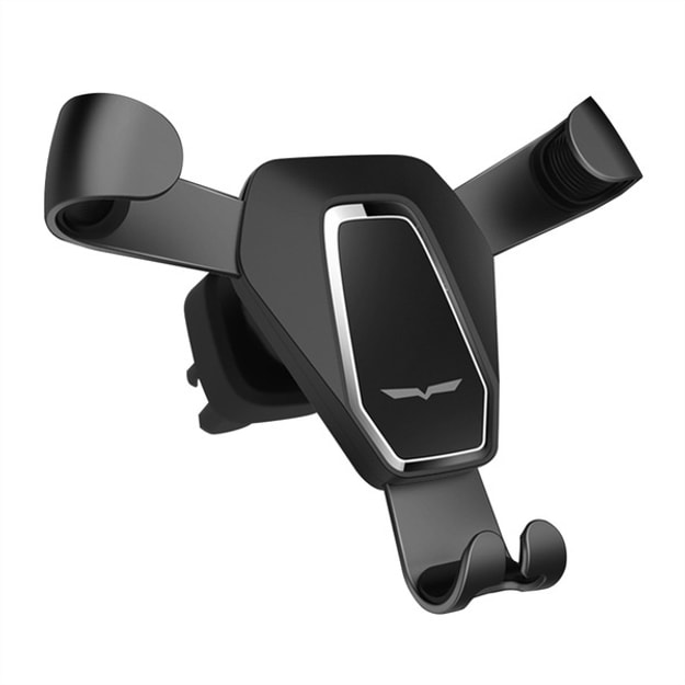 Product Detail - LORDUPHOLD Universal Gravity Reaction Car Phone Holder GPS Car Air Vent Outlet Stand Grip hold Black 1 pcs - image 0