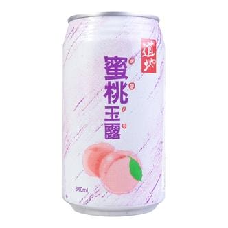 台湾道地 蜜桃玉露 340ml