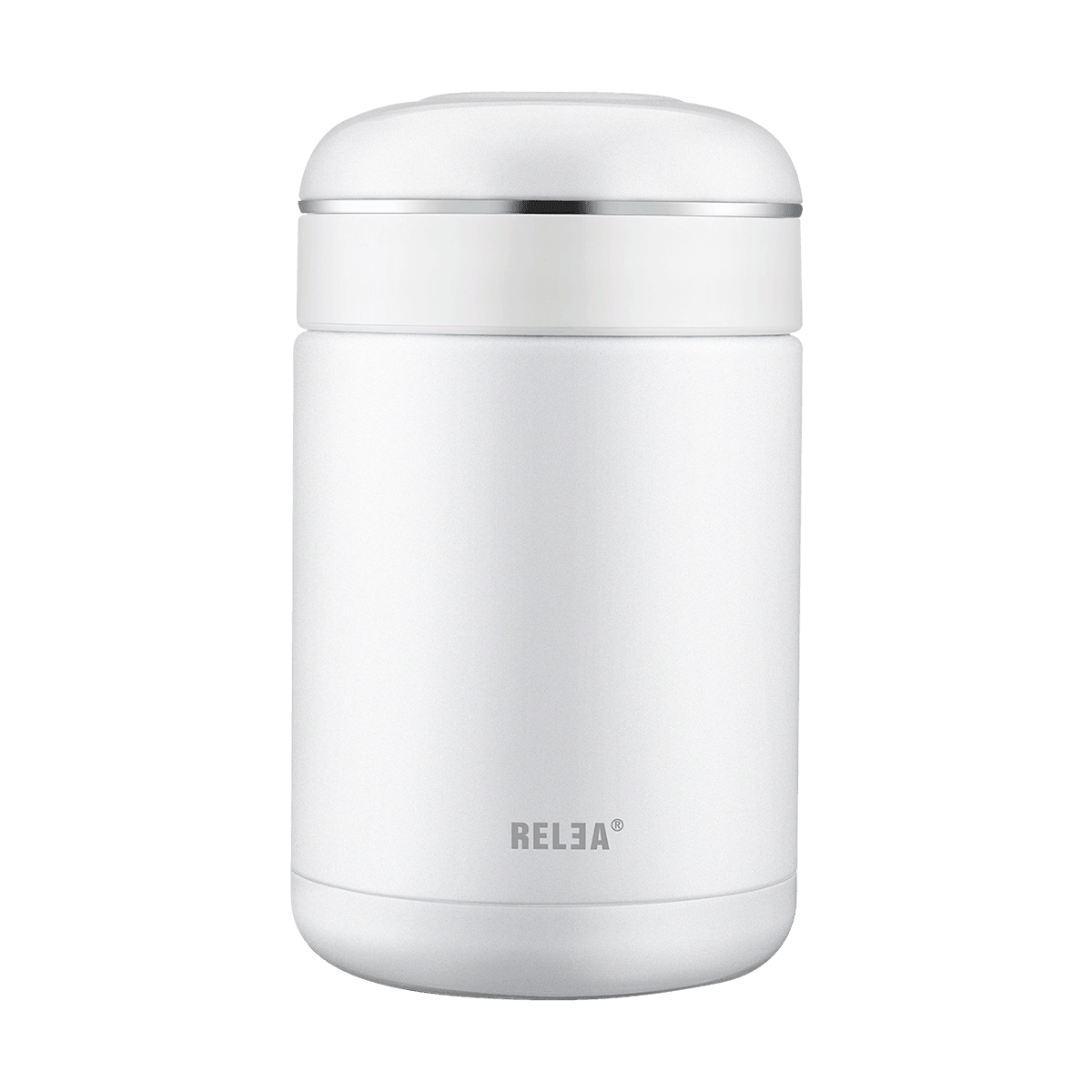 Yamibuy.com:Customer reviews:RELEA Stainless Steel Food Jar Container 540ml Pearl White
