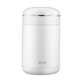 RELEA Stainless Steel Food Jar Container 540ml Pearl White