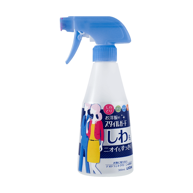 Product Detail - Japan Style Guard Clean Spray for wrinkles and odors Dewrinkle Spray 300ml - image  0