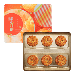 MEI-XIM Golden Moon Assorted Mooncake 6pc 420g