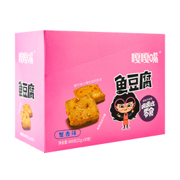 Fish Tofu Crab Flavor 22g*30pc