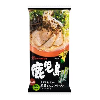 日本MARUTAI 九州鹿儿岛黑豚葱香拉面 2人份 185g
