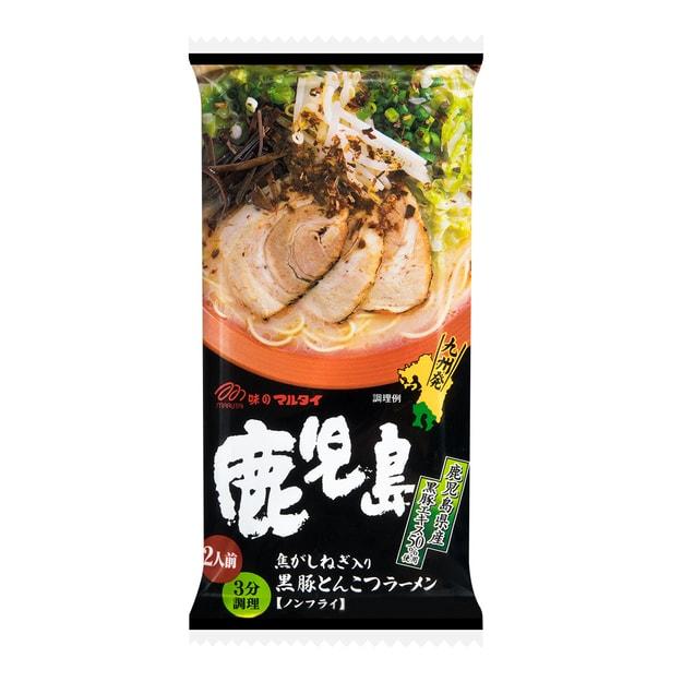 商品详情 - 日本MARUTAI 九州鹿儿岛黑豚葱香拉面 2人份 185g - image  0
