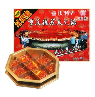 MORALS VILLAGE Hot Pot Soup Base Extra Spicy 300g