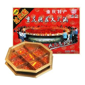 重庆德庄 过把瘾火锅底料 特辣 300g