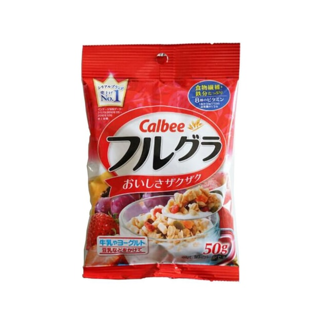 Product Detail - CALBEE Fruit Wheat Cereal 50g - image 0