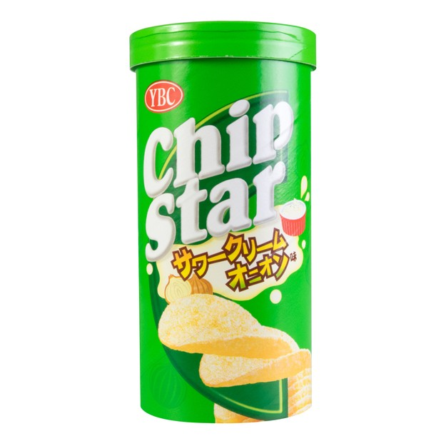 Product Detail - YBC Japanese Chip Star Sour Cream Onion Flavor 50g - image 0
