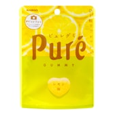 KANRO Pure Gummy Candy Lemon Flavor 56g