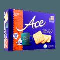 韩国HAITAI海太 低糖低热量 ACE咸味饼干 大盒装 364g