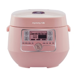 【Pre-order-Shipped in 7~15 days】[NEW] JOYOUNG Mini Rice Cooker 2L JYF-20FS987M #Pink