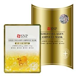 SNP Gold Collagen Ampoule Mask 10sheets