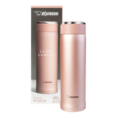 ZOJIRUSHI Stainless Steel Thermal Bottle Rose Gold 480ml SM-LB48