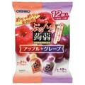 ORIHIRO Konnyaku Jelly Apple Grape Flavour 12pcs