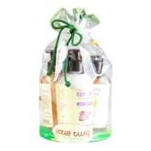 LITTLE TWIG Bath Shampoo Detangle Conditioner Soft Washcloth and Tub Toy Gift Set -Calming Lavender