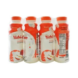 娃哈哈 营养快线 水果牛奶饮品 苹果味 4瓶连装