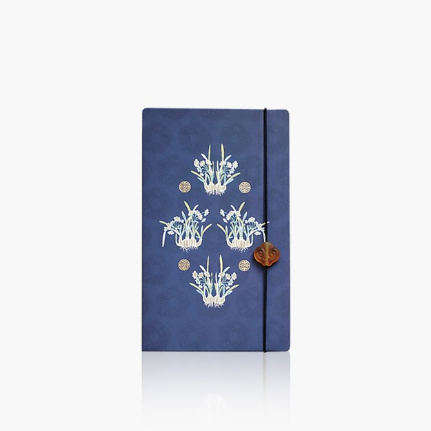 Product Detail - THE PALACE MUSEUM  Notebook # Queen\'s Dress Narcissus - image 0