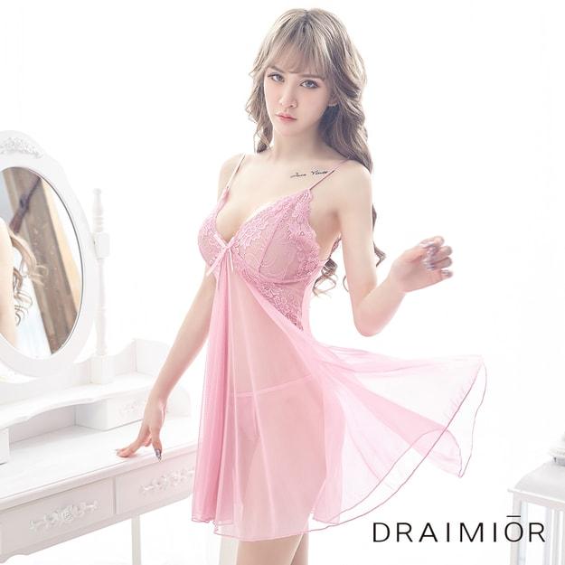 88413e4ed2 Draimior Lace split strap nightdress Pink M - Yamibuy.com