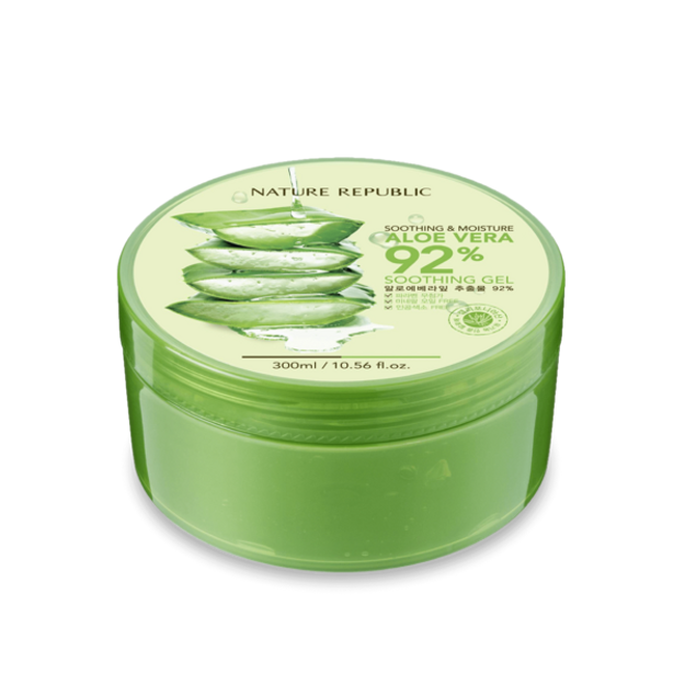 Product Detail - NATURE REPUBLIC Soothing and Moisture Aloe Vera 92% Soothing Gel 300ml - image 0