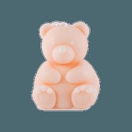 可爱INS风 拍照必备 立体可爱小熊小蜡烛 粉色