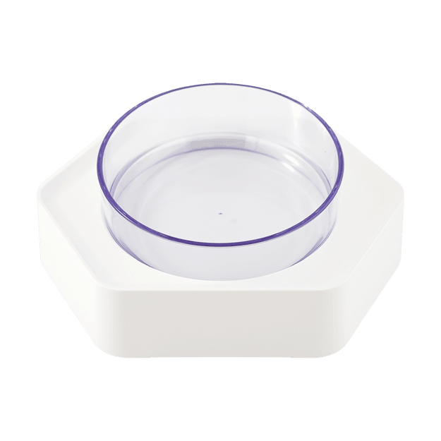 Product Detail - Pet Feeding Bowl for Cat and Dog Water Bowl and Food Bowl 131mm Single Bowl #White - image  0