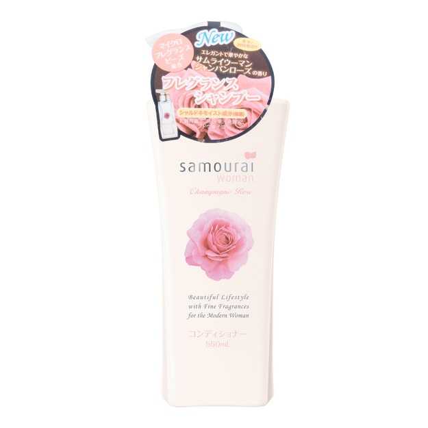 Product Detail - SAMOURAI WOMAN Champagne Rose Conditioner 550ml - image 0