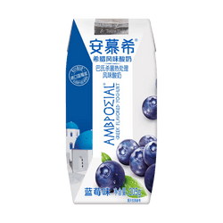AMBROSIAL Greek Yogurt Blueberry Flavor 205g