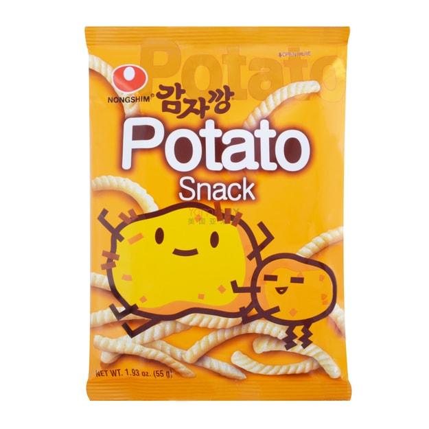 商品详情 - 韩国NONGSHIM农心 天然土豆薯条 55g - image  0