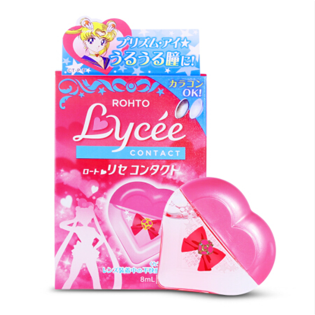 Product Detail - ROHTO LYCEE Eye Drops 8ml Sailor Moon Limited For Fatigued and Tired Eyes - image 0