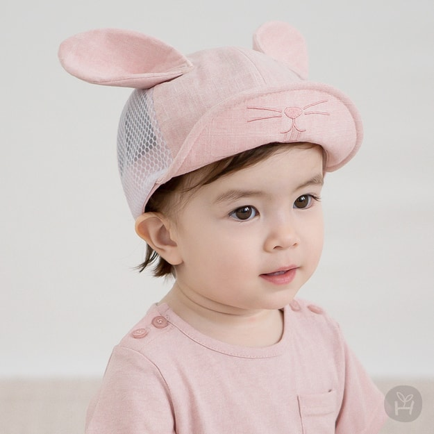 Product Detail - HAPPY PRINCE Laurian Mesh Cap Pink 3-6 Months - image 0