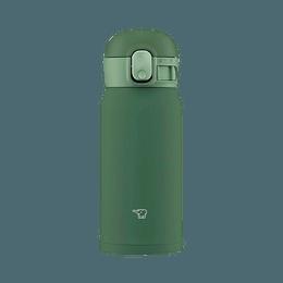 ZOJIRUSHI 象印||多色便携不锈钢保温杯||SM-WA36GD 绿色 360ml