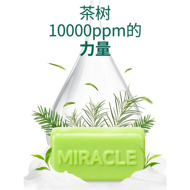 商品详情 - 韩国SOMEBYMI 茶树30天奇迹洁面皂106g - image  0